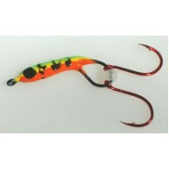 GVF Bugs Firetiger Double Hook