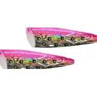 Brad's Kokanee Cut Plug 2 Pack (Non Rigged) Pink Magic 2 1/4""
