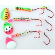 GVF Big Clown Spinner Bug 3 - Pack
