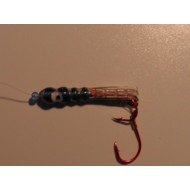 Glitter Bugs Tube Bug Black & Blue 1 1/2""