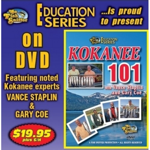 Fish sniffer 39 s kokanee 101 video for The fish sniffer