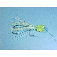 Shasta Tackle KOKE-A-NUT Lime Silver