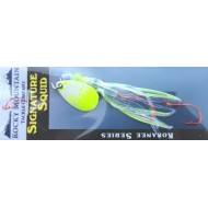 Rocky Mountain Tackle Super Squid Spinner UV Chartreuse