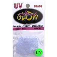 Radical Glow UV Beads 5mm Clearblue