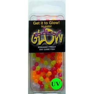 Radical Glow UV Beads 5mm Assorted 126/bag