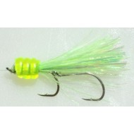 Shasta Tackle KOKE-A-NUT Chartreuse Silver