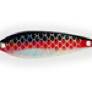 Vance's Slim Fin Nasty Boy Blk/Wh/Red with Holo Fish Scale UV 2.5""