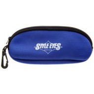 Fishin Vision Zip Sunglass Case Blue