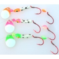 GVF Clown Spinner Bug Glow 3- Color Pack