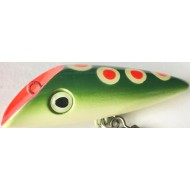 "Lyman Lure 2"" Lil Red Dot Frog # 81"