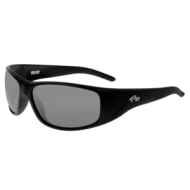 Fishin Vision Bi-Focal Pro Mirror Silver 200 Magnifier Sunglasses Black