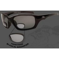 Fishin Vision Bi-Focal 200 Magnifier Keeper Sunglasses Black