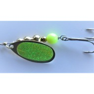 Trinidad Tackle Pro Casting Spinner Chartreuse