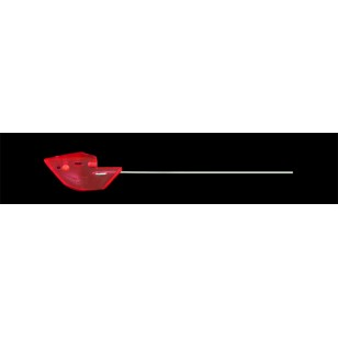 Trinidad Tackle Anchovy Bait Head 2 pk. Unrigged Red